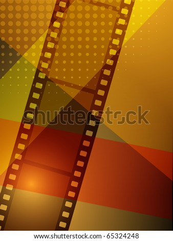 abstract background, clip art illustration - stock photo