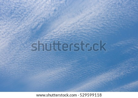 Abstract background. Clouds and blue sky