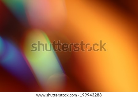Abstract background, color rays of light - stock photo
