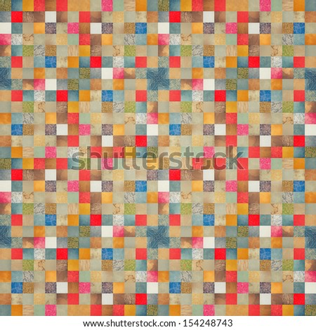 abstract background. colored square mosaic.