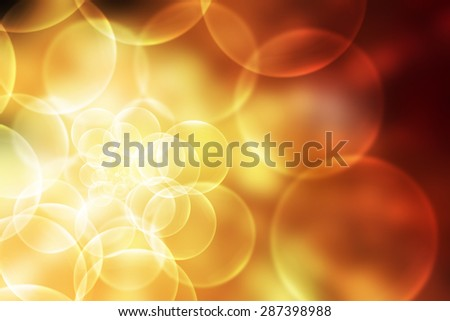 abstract background colorful bokeh circles - stock photo