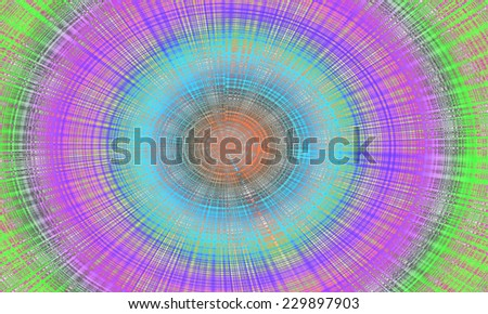 Abstract background Colorful with digital shape illustration