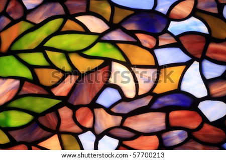 Abstract background consisting of multi-coloured sites - stock photo