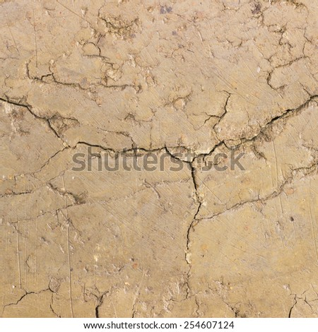abstract background - cracked soil texture - stock photo