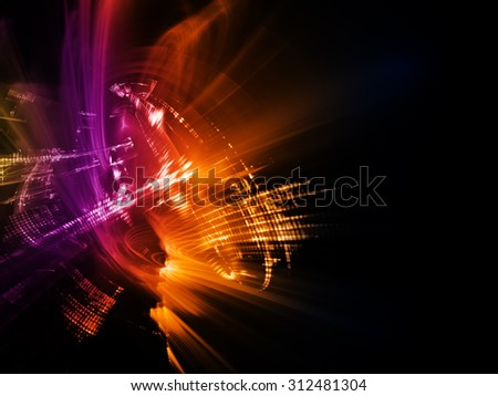 Abstract background. Detailed computer graphics - stock photo