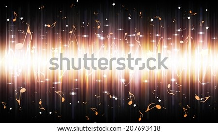 abstract background. digital light Equalizer background - stock photo