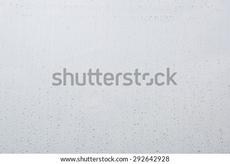 Abstract background. Drops of water on the window. - stock photo