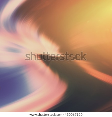 abstract background, dynamic curved colored lines - stock photo