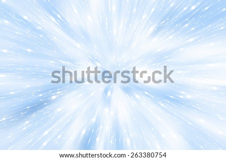 abstract background. explosion of blue  lights background - stock photo