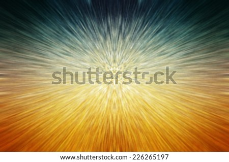 abstract background. explosion star on multicolored