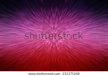 abstract background. explosion star on pink