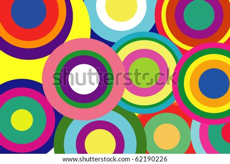 abstract background flower power