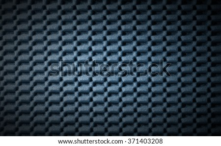 Abstract Background - Foam Rubber / Blue and black abstract background in foam rubber - stock photo