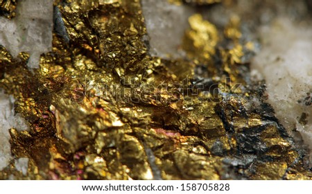 Abstract background from a metal mineral.  - stock photo