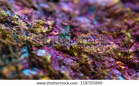 Abstract background from a mineral. Macro. - stock photo