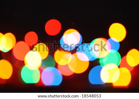 Abstract background from colour circles