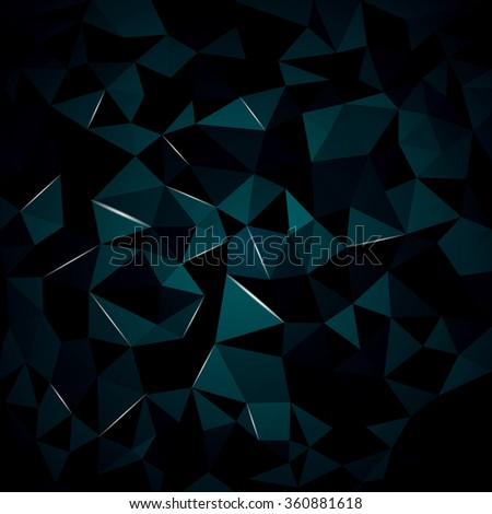abstract background from crystal, you can change the color keeping the same 3d image - stock photo