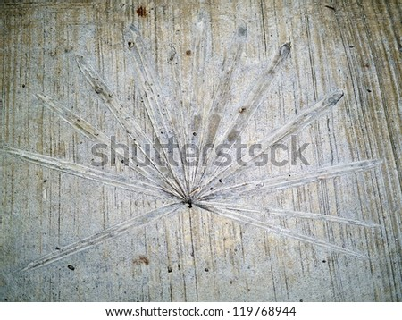 Abstract background from fallen leaves ,the leaf rubbing - stock photo
