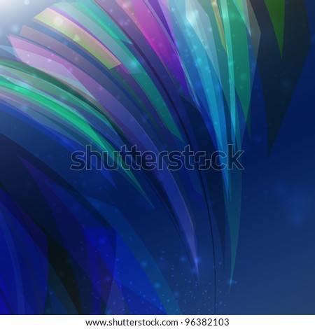 Abstract background, futuristic colorful strip, stylish illustration