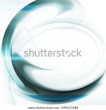 Abstract  background, futuristic wavy illustration  - stock photo