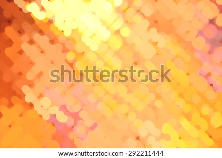 abstract background gold bokeh circles. Christmas background. - stock photo