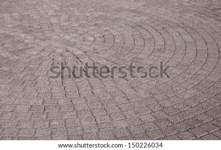 Abstract background - gray paving slabs in the form of squares. - stock photo