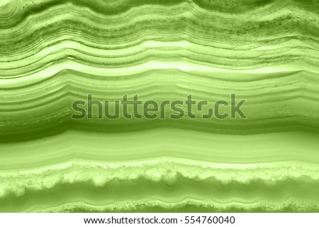 Abstract background - green agate slice mineral macro (PANTONE 15-0343 greenery)