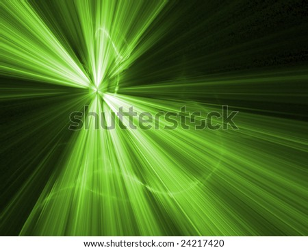 Abstract background. green palette. raster fractal graphics. - stock photo
