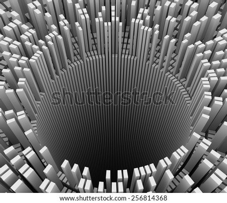 Abstract Background - Hole - stock photo