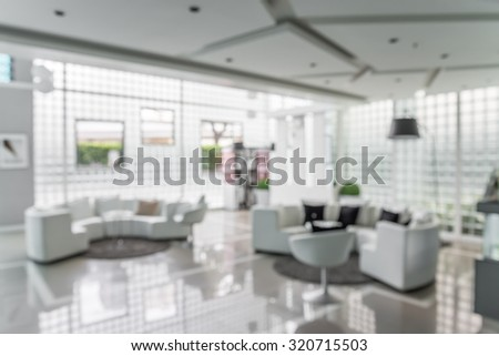 Abstract background hotel lobby blur - out of focus