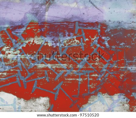 Abstract background illustration. - stock photo
