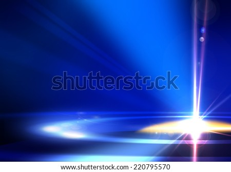 Abstract background image with lights and shade