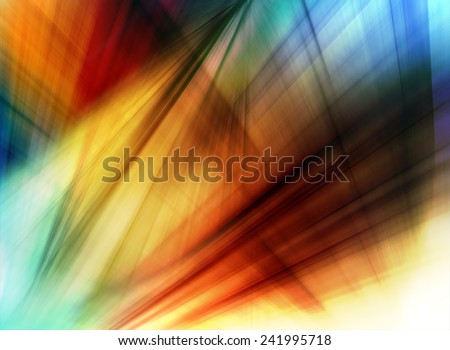 Abstract background in blue, green, red and orange colors. - stock photo