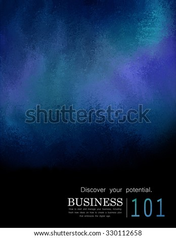 abstract background in blue green teal and purple hues. luxury background. Dark blue background with distressed sponged texture, marketing education or business report design - stock photo
