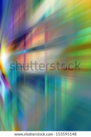 Abstract background in blue, purple and green colors. - stock photo