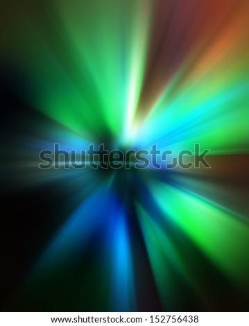 Abstract background in green and blue colors. - stock photo