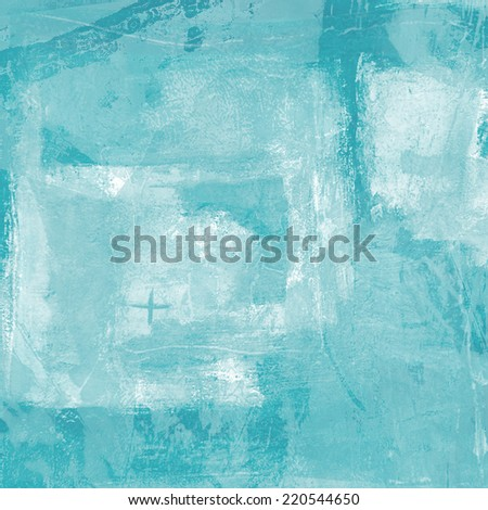 Abstract Background in Mint Blue Colors - stock photo