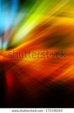 Abstract background in red, orange, yellow, green and blue colors. - stock photo
