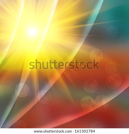 Abstract background in red, yellow and orange colors. - stock photo
