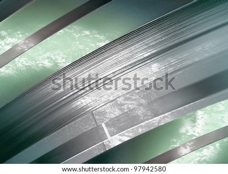 Abstract background, light green and gray. - stock photo