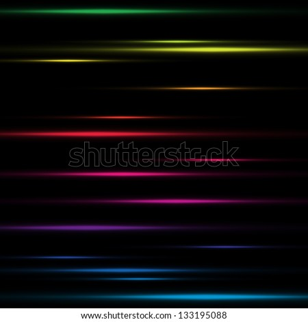 Abstract background lighting