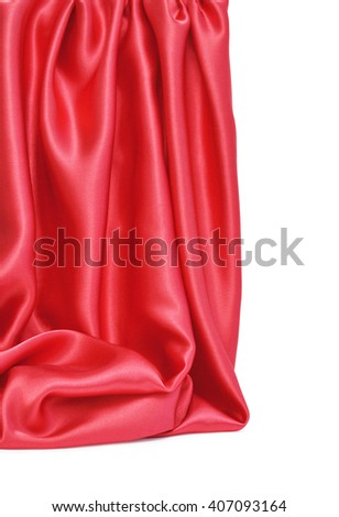 abstract background luxury cloth wavy folds of grunge silk texture satin velvet material background or elegant wallpaper design