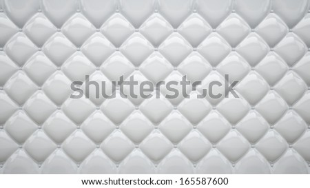 abstract background made of white soft plastic or rubber - stock photo
