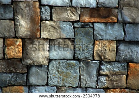 Abstract background made with aged stone