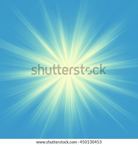 Abstract background. Magic illustration sunshine