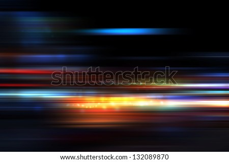 Abstract background  magic light. - stock photo