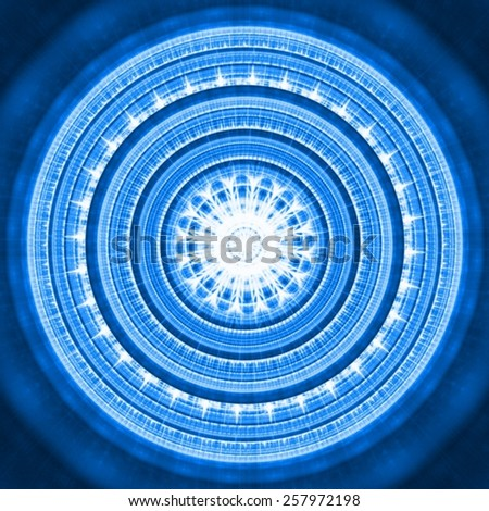 Abstract background - mandala - stock photo
