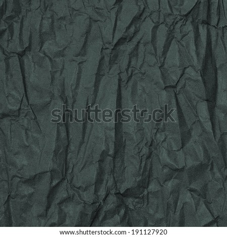 abstract background matte black crumpled paper printed in little dots - stock photo