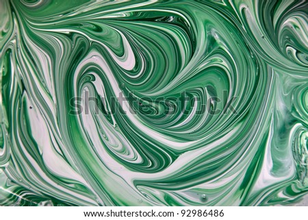 abstract background. mixed paints - stock photo