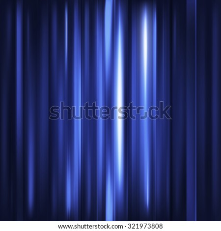 Abstract background. Motion blue vertical lines. Raster technology backdrop for cover magazine, banner, catalog, web and advertisement. Energy and power